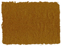 Papier brun de déchirure Photos stock