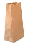 papier brun de sac Photographie stock
