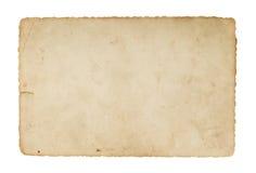 Papier brun de vieille antiquité de cru illustration libre de droits