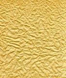 Papier brun froissé et plissé Image libre de droits