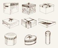 Papier cadeau Photographie stock libre de droits