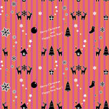 Papier cadeau de la Navidad. Foto de archivo libre de regalías