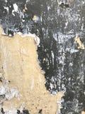 Papier cassé sur le mur Éléments et fond graphiques Photo libre de droits
