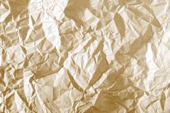 papier chiffonné Photographie stock libre de droits