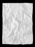 Papier chiffonné Images stock