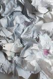 Papier chiffonné photo libre de droits