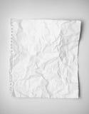 Papier chiffonné image libre de droits