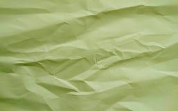 Papier chiffonné par fond Image stock