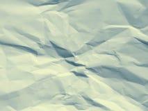 Papier chiffonné par fond Images stock