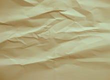 Papier chiffonné par fond Image libre de droits