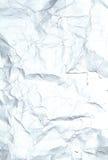 Papier chiffonné par plan rapproché de papier réutilisé de texture photos stock