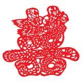 papier chinois de découpage Illustration Libre de Droits