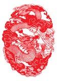 papier chinois de découpage Illustration Stock