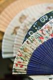 papier chinois de ventilateurs Images libres de droits