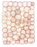 Papier circulaire superbe de radis Photos libres de droits