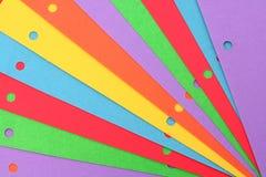 Papier coloré Photographie stock libre de droits