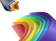 Papier coloré. Image libre de droits