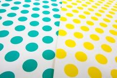 Papier coloré de métier de point Photo stock