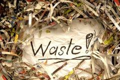 Papier déchiqueté Photo libre de droits