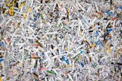 Papier déchiqueté Images libres de droits