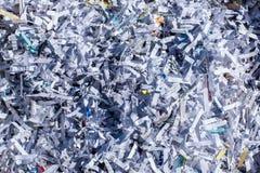 Papier déchiqueté extrêmement secret Image libre de droits