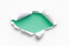 Papier déchiré photographie stock