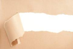 Papier déchiré Photos stock