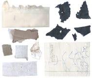 Papier déchiré 1 Image stock