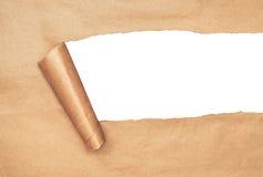 Papier déchiré Photos libres de droits