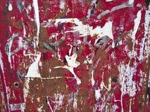 Papier déchiré avec la texture de rouille Photo libre de droits