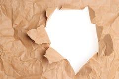 Papier déchiré. Fond images stock