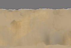 Papier déchiré horizontal pour le fond Images libres de droits