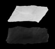 Papier déchiré, morceau de papier déchiré Image libre de droits