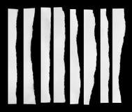 Papier déchiré, morceau de papier déchiré Photos libres de droits