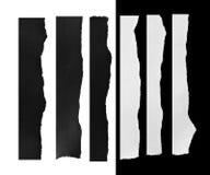 Papier déchiré, morceau de papier déchiré Photographie stock libre de droits