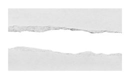 Papier déchiré, morceau de papier déchiré Image stock