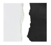 Papier déchiré, morceau de papier déchiré Photos stock