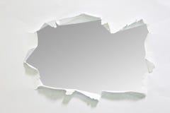 Papier déchiré, morceau de papier déchiré Photo stock