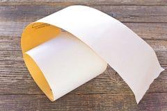 Papier d'émeri - papier sablé Photos libres de droits