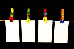 papier d'agrafe Photographie stock libre de droits