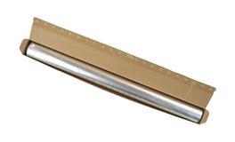 Papier d'aluminium dans la boîte au détail Photographie stock