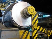 Papier d'aluminium de bobine photographie stock libre de droits