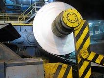 Papier d'aluminium de bobine images stock