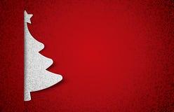 Papier d'arbre de Noël Image libre de droits