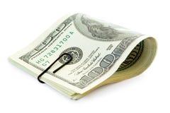 papier d'argent de clip Images stock