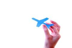 papier d'avion Photos stock