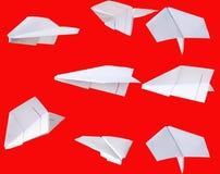 papier d'avion Photo stock