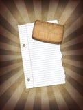 Papier d'éclat Photos libres de droits
