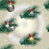 Papier d'emballage cadeau de Noël Photographie stock