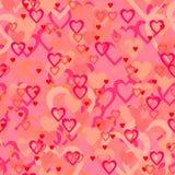 Papier d'emballage d'amour. Photo libre de droits